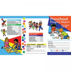 PROGRESS REPORTS PK 10-PK 4-5 YEAR  OLDS