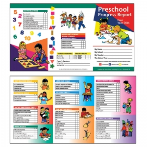 PRESCHOOL PROGRESS REPORT 10PK AGE4