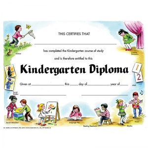 "Kindergarten Diploma, Pack of 30, 8.5"" x 11"""