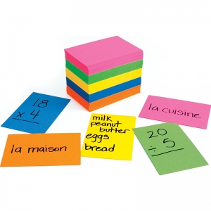 BRIGHT FLASH CARDS 2X3