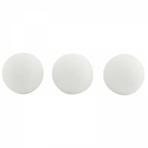 STYROFOAM BALLS 3 INCH PACK OF 12