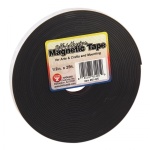 MAGNETIC TAPE 1 / 2 X 25  SELF ADHESIVE