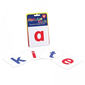 ALPHABET CARDS A-Z LOWER CASE  LETTERS