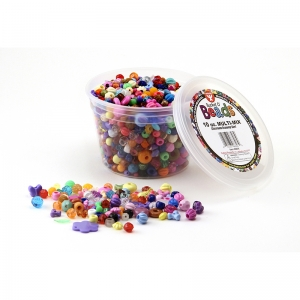 Bucket O' Beads, 10 oz. Multi Mix