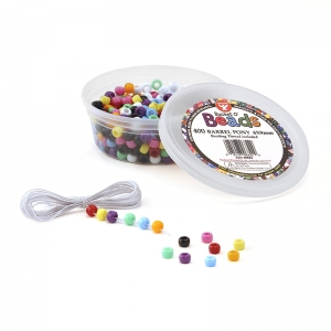 Bucket O� Beads, Barrel Pony, 6 x 9 mm, 400/pkg