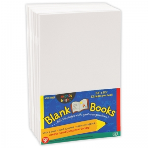 MIGHTY BRIGHT BOOKS 5 1/2 X 8 1/2  32 PAGES 10 BOOKS WHITE