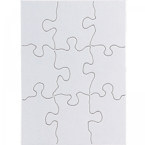 COMPOZ A PUZZLE 4X5.5IN RECT 9PC
