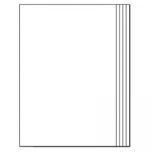 BLANK BOOK RECTANGLE 12-PK 16 PGS  7 X 10