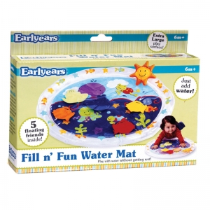 Fill 'N Fun Water Play Mat for Tummy Time