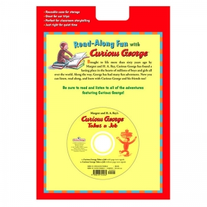 CARRY ALONG BOOK & CD CURIOUS  GEORGE TAKES A JOB