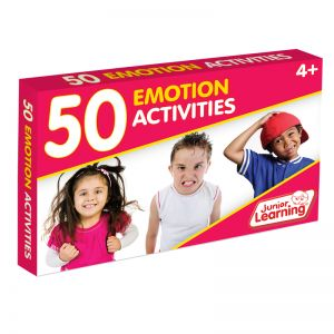 50 Emotion Activity Cards, 2 Packs