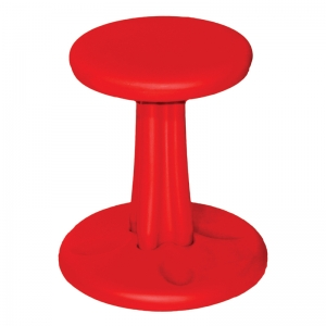 KIDS KORE WOBBLE CHAIR 14IN RED