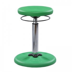 GREEN GROW WITH ME KID WOBBLE CHAIR  ADJUSTABLE
