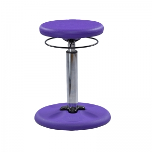 PURPLE GROW WITH ME WOBBLE CHAIR  ADJUSTABLE