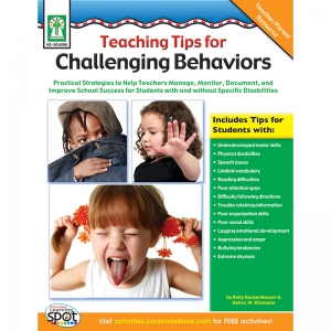 TEACHING TIPS FOR YOUNG KIDS WITH  CHALLENGING BEHAVIORS