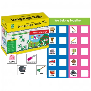 GR PK-2 LANGUAGE SKILLS  CENTERSOLUTIONS