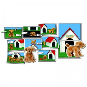 POSITIONAL/DIRECTIONAL CONCEPTS  WHERE IS PUPPY GR PK-1 ELL