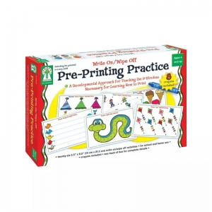 WRITE ON/WIPE OFF PRE-PRINTING  PRACTICE