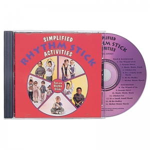 SIMPLIFIED RHYTHM STICK CD