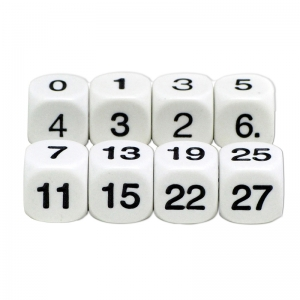 MATH NUMBERS DICE