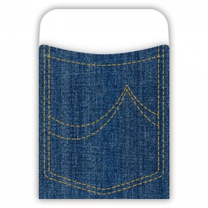PICK-A-POCKET LIBRARY POCKETS DENIM