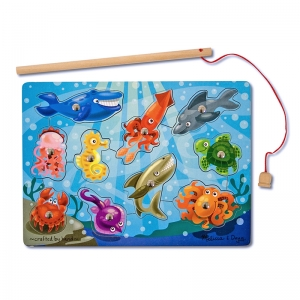 MAGNETIC GAME PUZZLES FISHING