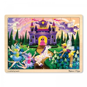 FAIRY TALES 48-PC WOODEN JIGSAW  PUZZLE