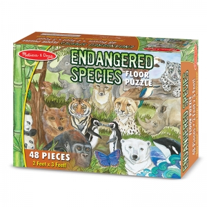 Endangered Species Floor Puzzle
