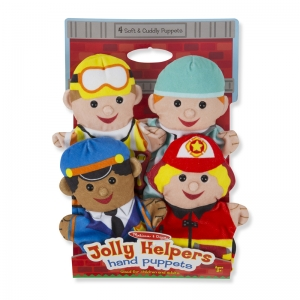 JOLLY JOBS HAND PUPPETS