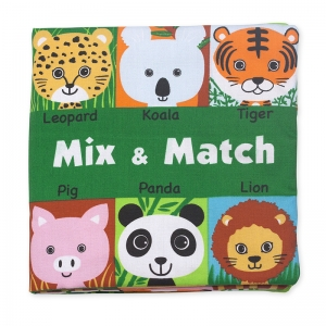 KS KIDS MIX AND MATCH CLOTH BOOK