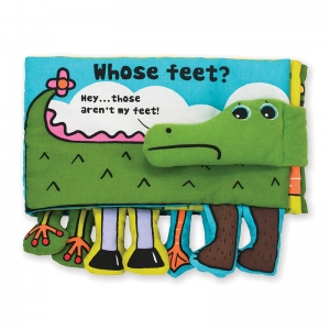 KS KIDS WHOSE FEET CLOTH BOOK