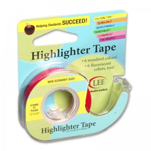 REMOVABLE HIGHLIGHTER TAPE  FLUORSCENT PURPLE