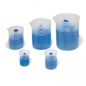 GRADUATED BEAKERS 50/100/250/600ML  & 1 LITER