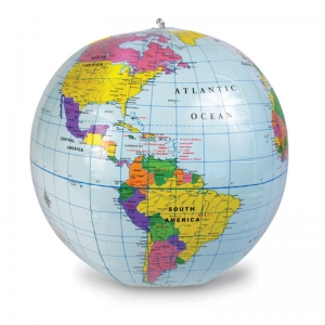 12 INCH INFLATABLE GLOBE