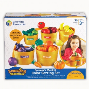 FARMERS MARKET COLOR SORTING SET