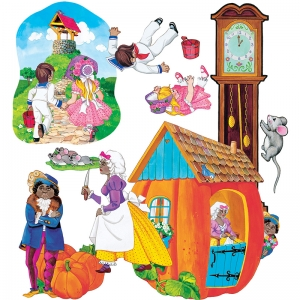 FLANNELBOARDS SET 1 NURSERY RHYMES  PRE CUT