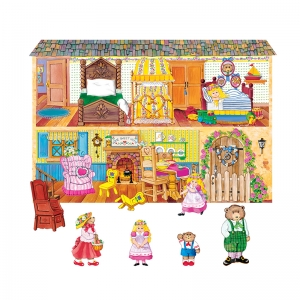 Goldilocks & The Three Bears Flannelboard