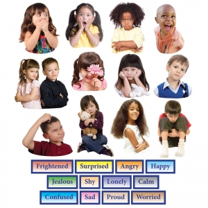 Little Folks Visuals Emotions Flannelboard Set