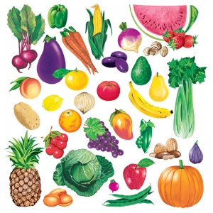 FRUITS & VEGETABLES COMBO SET