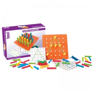 STRINGING PEGS & PEGBOARD SET