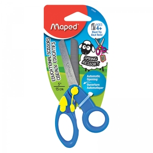 SPRING ASSISTED KIDS SCISSORS