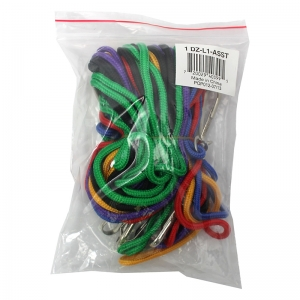 Pack of 12 assorted lanyards