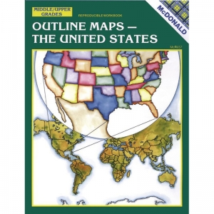 OUTLINE MAPS THE US GR 6-9