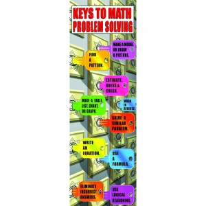 MATH PROBLEM SOLVING STRATEGIES  COLOSSAL POSTER