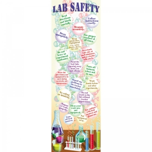SCIENCE LAB SAFETY COLOSSAL POSTER