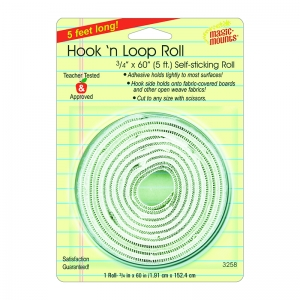 "Hook 'n Loop, 3/4"" x 60"" Roll"