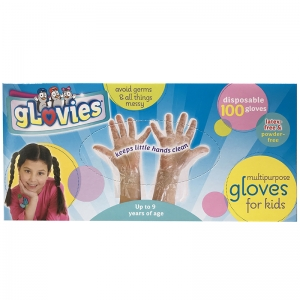 Glovies Multipurpose Disposable Gloves, 100 per Box
