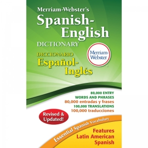 Merriam-Webster Spanish-English Dictionary Hardcover