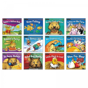 RISING READERS ANIMAL ADVENTURES  LEVELED BOOK SET PK-1