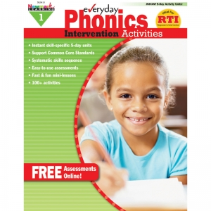 EVERYDAY PHONICS GR 1 INTERVENTION  ACTIVITIES